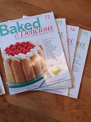 Baked and Delicious Issues 66, 67, 72-75 Baking Recipe Magazine