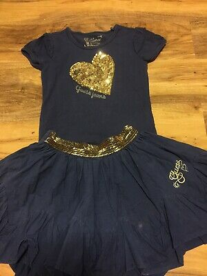 Guess Jeans Girls Skirt & Top Set Age 5 Years Old