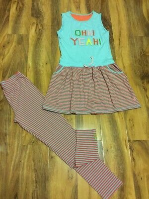 Oilily Girls 2 Piece Dress & Bottom Aged 10 Years Old