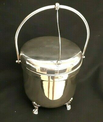 Vintage F.B. Rogers Silver Plated Footed Ice Bucket