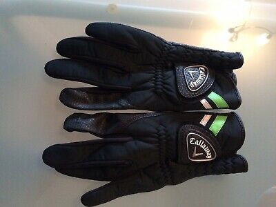 Callaway Mens Winter Playing Golf Gloves For Cold And Wet Weather *PAIR*