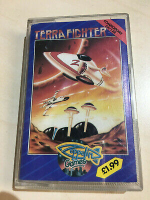 TERRA FIGHTER for the COMMODORE 64 C64 on Cassette