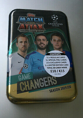 Topps - Match Attax 2019/20 - Champions & Europa League - Game - Mega Tin