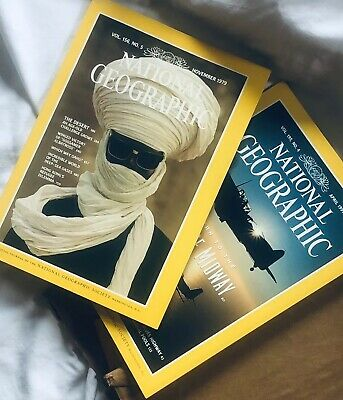 National Geographic Magazine Lot of 10 Random Pick 1970s - 2010s Near Mint!