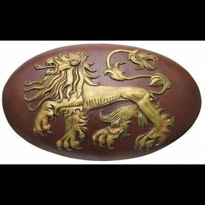 -=] VALYRIAN STEEL - Game of Thrones: Lannister Shield 1:1 Replica [=-