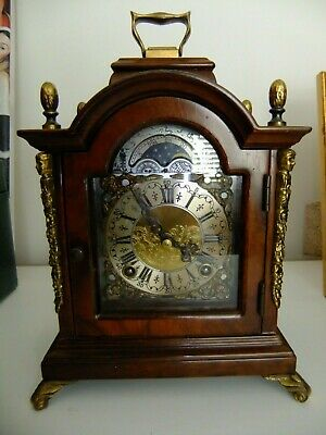 Dutch Warmink/Wuba Bracket/Mantel Shelf 8 Day Chiming Clock