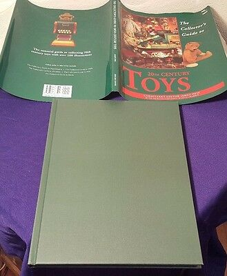 1996 The Collectors Guide to 20th Century TOYS Hardcover Book by JAMES OPIE