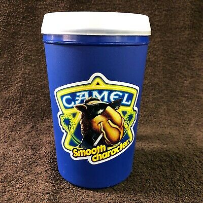 Vintage 1989 Joe Camel Cigarettes Smooth Character Aladdin Insulated Travel Mug