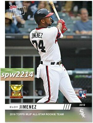 2019 Topps Now Eloy Jimenez #RC6 All Star Rookie Cup Team