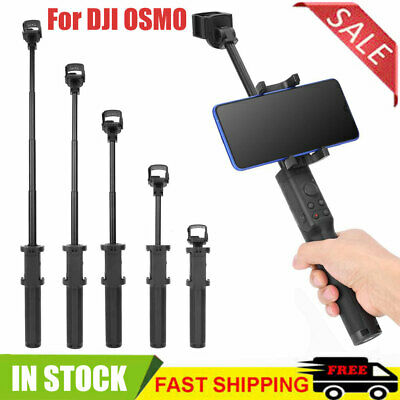 Handheld Universal Retractable Bracket Extension Rod for DJI OSMO Pocket Cameras