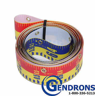 Replacement Tape 10' For Laserline Direct Elevation Cut Fill Lenker Grade Rod