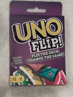 UNO Flip Card Game New Double-sided Cards