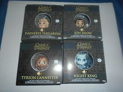 Game of Thrones Trono Spade lotto n.4 figure Funko 5 Star Jon,Dany,Tyrion,N.KIng
