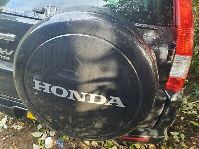 2002-2006 Honda Crv 2.2 Diesel Spare Wheel Hard Plastic Cover Black