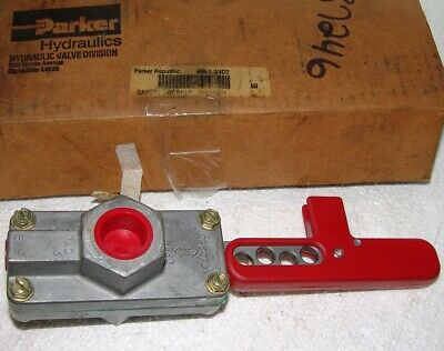 Parker pneumatic safety lockout 699-1-3/4D2