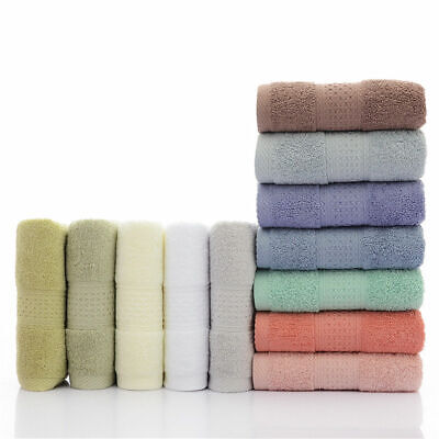 """Ultra Soft Pure Egyptian Cotton Bath Towels 28x55"""" Large Highly Absorbent"""