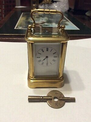 Small Size/ Miniature Carriage Clock , Lovely Quality Clock, Working.