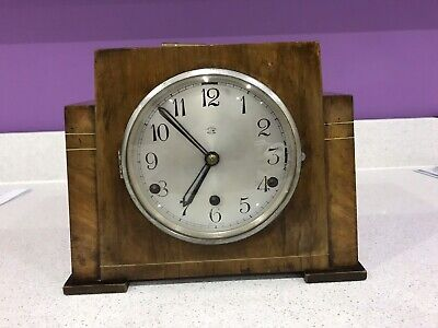 Vintage Art Deco Anvil Mantle Clock* Westminster Chime*