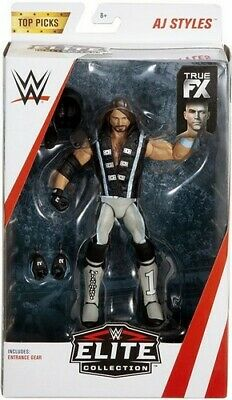 Mattel Wwe Top Picks Elite Collection Action Figures - Aj Styles - New Boxed