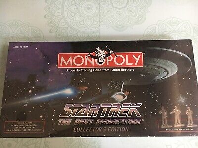 Star Trek: Tng - The Next Generation Collector's Edition Monopoly - 1998 - Bnip