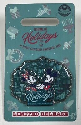 2019 Mickey & Minnie Mouse Festival of Holidays Limited Release Disney Parks Pin