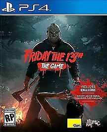 Friday The 13th: The Game PlayStation 4 PS4  Complete. Very good.