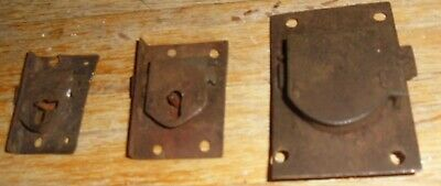 Antique  Longcase / Grandfather  Clock  Trunk Door Locks