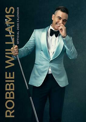 Robbie Williams 2020 Calendar Official A3 Wall Calender Brand New Sealed Singer