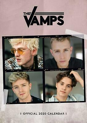 The Vamps 2020 Calendar Official A3 Wall Format Calender Brand New Sealed UK