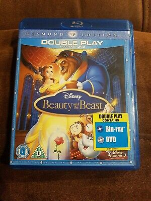 Beauty And The Beast (Blu-ray and DVD Combo, 2010, 2-Disc Set)