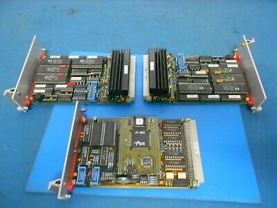 F&K Delvotec 1124 Rev.2 B Motor Control Board & 1122 CPU Interface Lot of 3