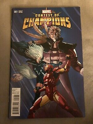 CONTEST OF CHAMPIONS #1 1:25 Yu Variant 1st Appearance Of White Fox