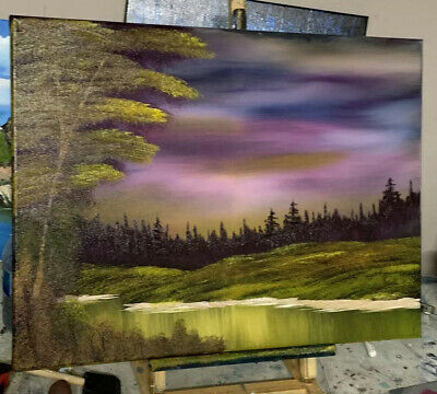 My original oil painting on canvas Bob Ross Style 18x24