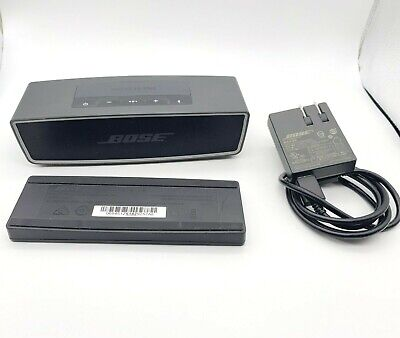 BOSE SoundLink Mini II Wireless Bluetooth Speaker with Charging Cradle