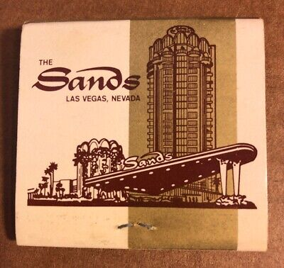 The Sands Hotel And Casino Matchbook, Las Vegas, Nevada