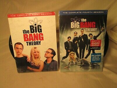 The Big Bang Theory: The Complete Fourth Season [3 Discs]: Brand New & Sealed
