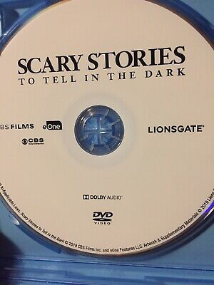 Scary Stories To Tell In The Dark (DVD, 2019) *Authentic - Disc Only