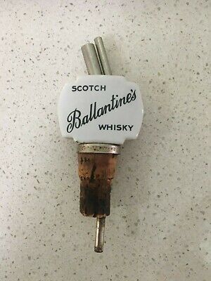 Ballintines scotch whisky collectables ceramic pourer