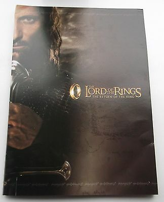 Lord of the Rings New Zealand First Day Covers FDC RETURN OF THE KING 220 Stamps