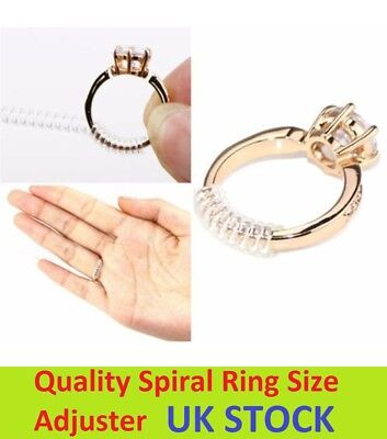 2X Ring Size Adjuster Reducer Sizer Snuggies 10cm Long One Size Fits All Sprial