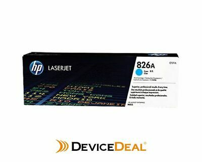 HP #826A Cyan Toner CF311A 31,500 pages
