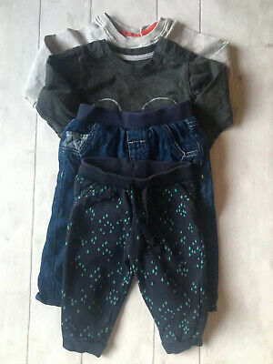 Baby Boy Clothes 3-6 Months Outfit M&S Disney Jeans Tracksuit Tops Bundle X 4