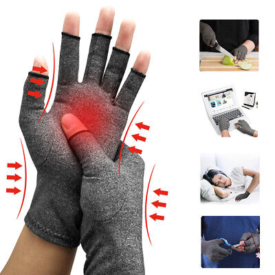 Compression Arthritis Gloves Premium Arthritic Hand Support Finger Pain Therapy