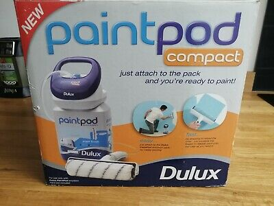 Dulux Paint Pod Compact Roller system - Contents Brand New - DIY Painting Roller