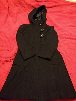Smart girls Next Black Coat 7-8 years