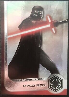 CARTA SILVER LIMITED EDITION KYLO REN. Star Wars: The Rise of Skywalker.