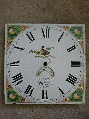Antique 30 Hour Grandfather/Longcase Clock  12in Dial Stroud