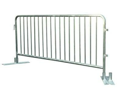 80 x Crowd Control Barriers - CHEAP