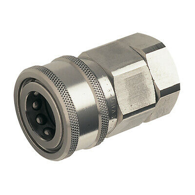 H Series, Snap-tite - Couplings, Stainless Steel Valved, BSPP