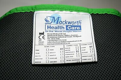 Mackworth Pine Hammock Sling Supersoft Spacer Black Large without Head Support